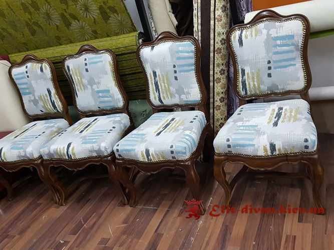 Дизайнерские мягкие стулья на заказ Буча