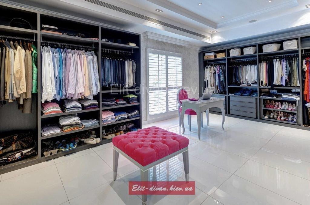 дизайнерская гардеробная