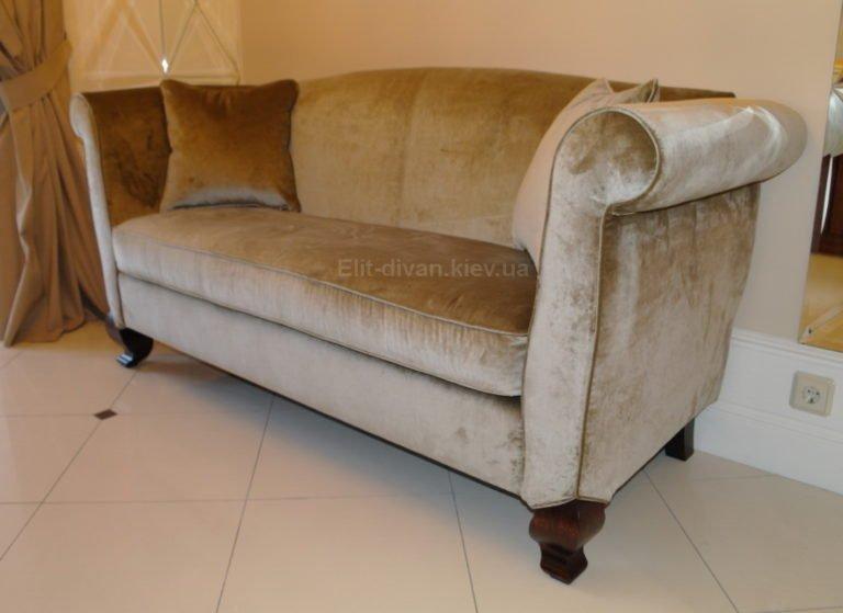 элитный прямой диван