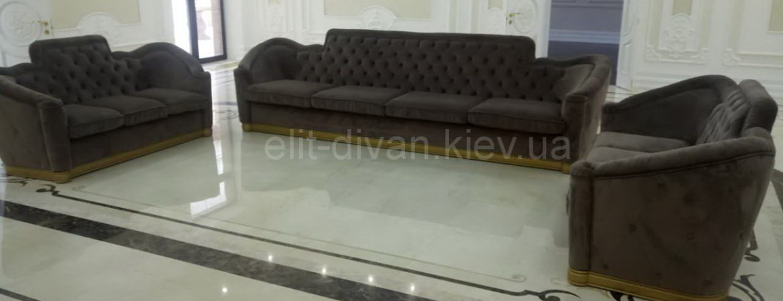 Мяткая мебель на заказ Бышев