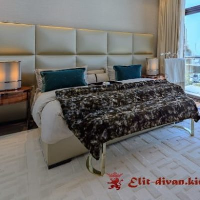 дизайнерская двухспальняя кровать на заказ