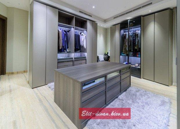 гардеробный шкаф под заказ Украина