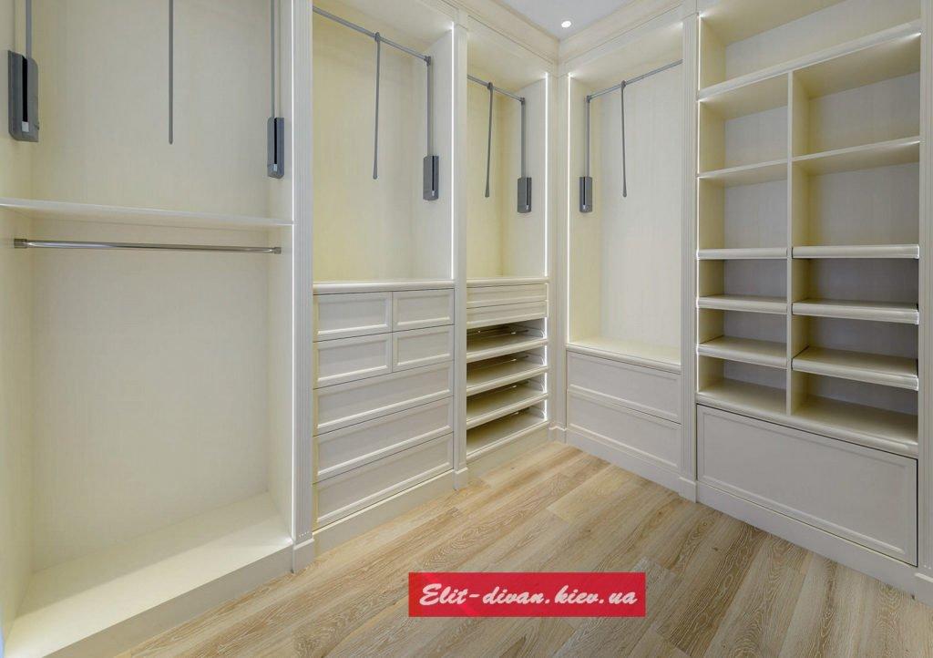 угловая мебель в гардероб