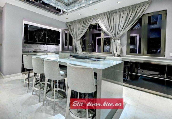 кухонная мебель под заказ Вишневое