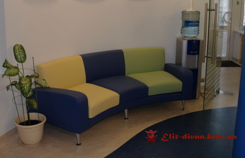 кожанные офисные диваны на заказ в Киеве