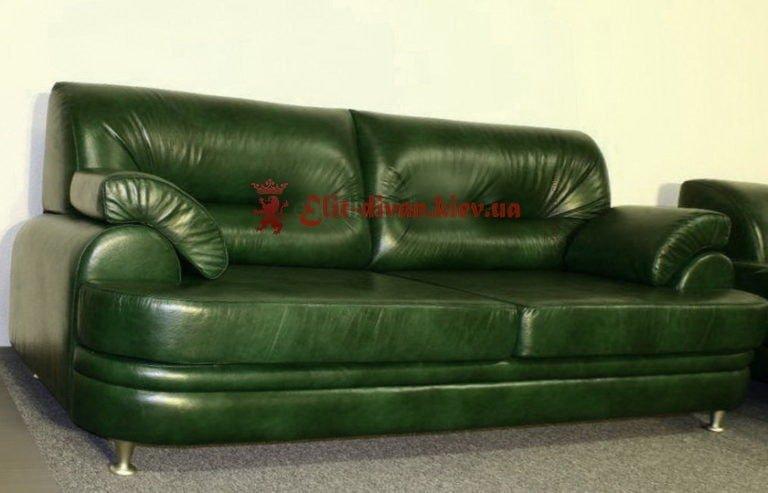 зеленый офисный диван на заказ