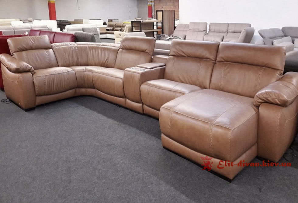 угловой итальянский диван на заказ в Киеве