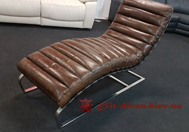 кожаное итальянское кресло на заказ
