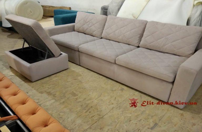 недорогой угловой формы диван