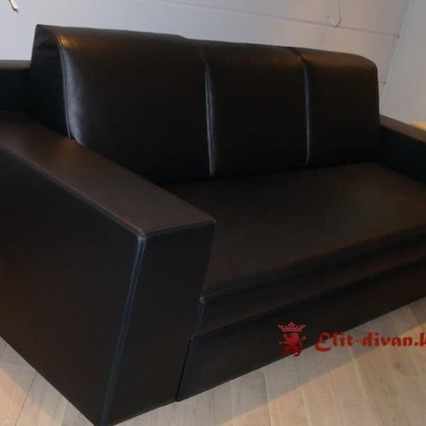 черный офисный диван на заказ