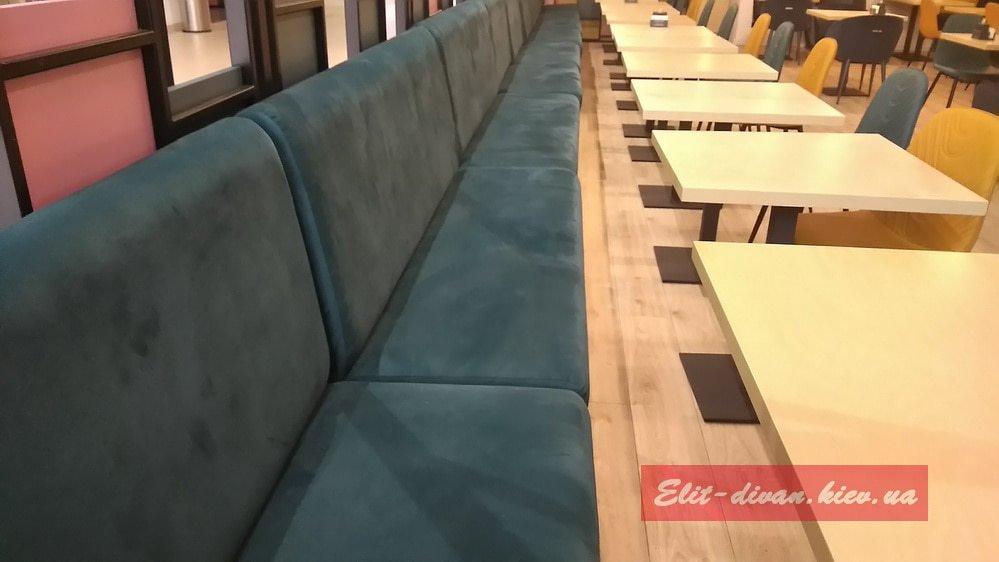 мягкая мебель для ресторанов на заказ Ирпень