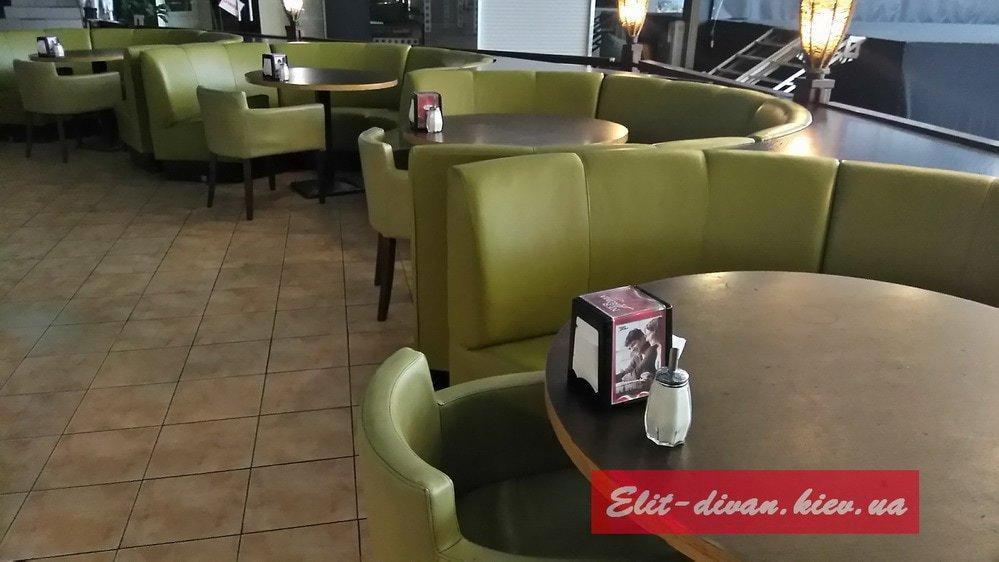 мягкая мебель для ресторанов на заказ Москва