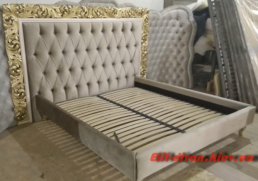 большая мягкая фирменная кровать под заказ Оболонь