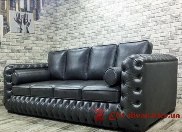Чорний диван на замовлення нові Петрівці