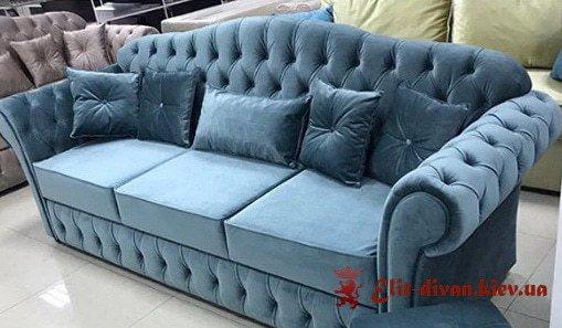 синій диван на замовлення Софіївська Борщагівка