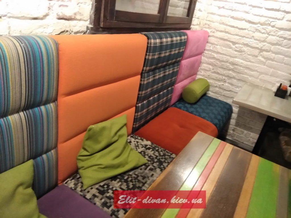 необычная мебель в кафе на аказ