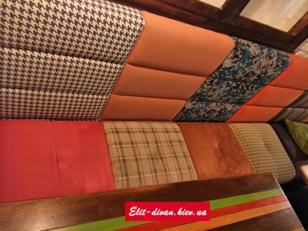 разноцветная мебель в ресторан на заказ