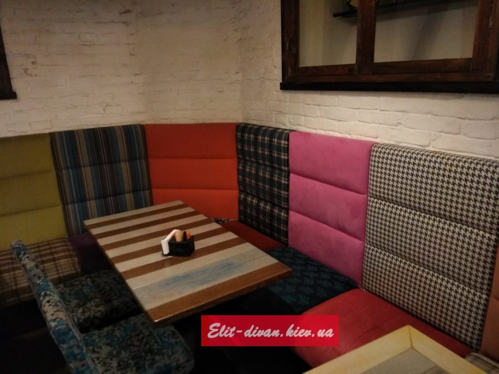 sofa in restaurant zakaz