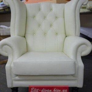 элитное кресло под заказ из кожи