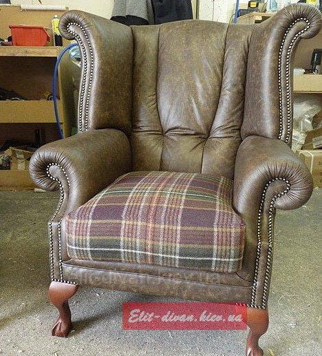 заказное кресло в английском стиле