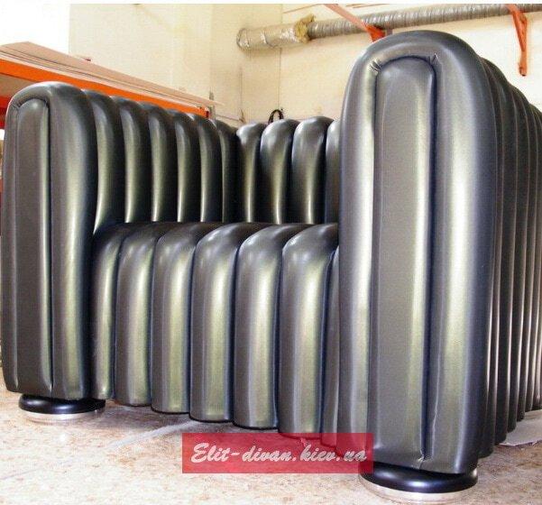 кресло на заказ черного цвета