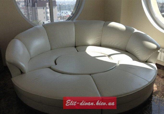 кровать круглая под заказ