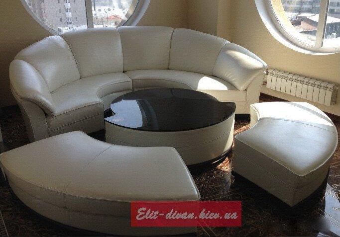 модульне ліжко кругле під замовлення