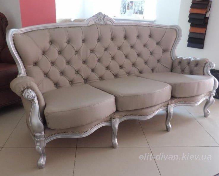 Бежеві дивани класичні на замовлення