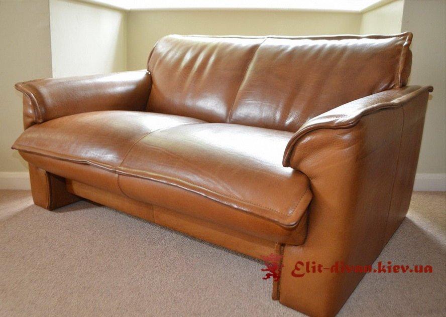 Прямий шкіряний диван на замовлення Буча