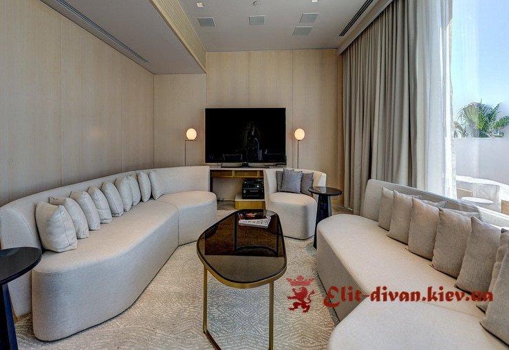 Білі дивани на замовлення