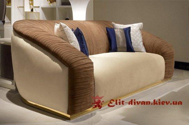 дизайн прямого дивана на замовлення