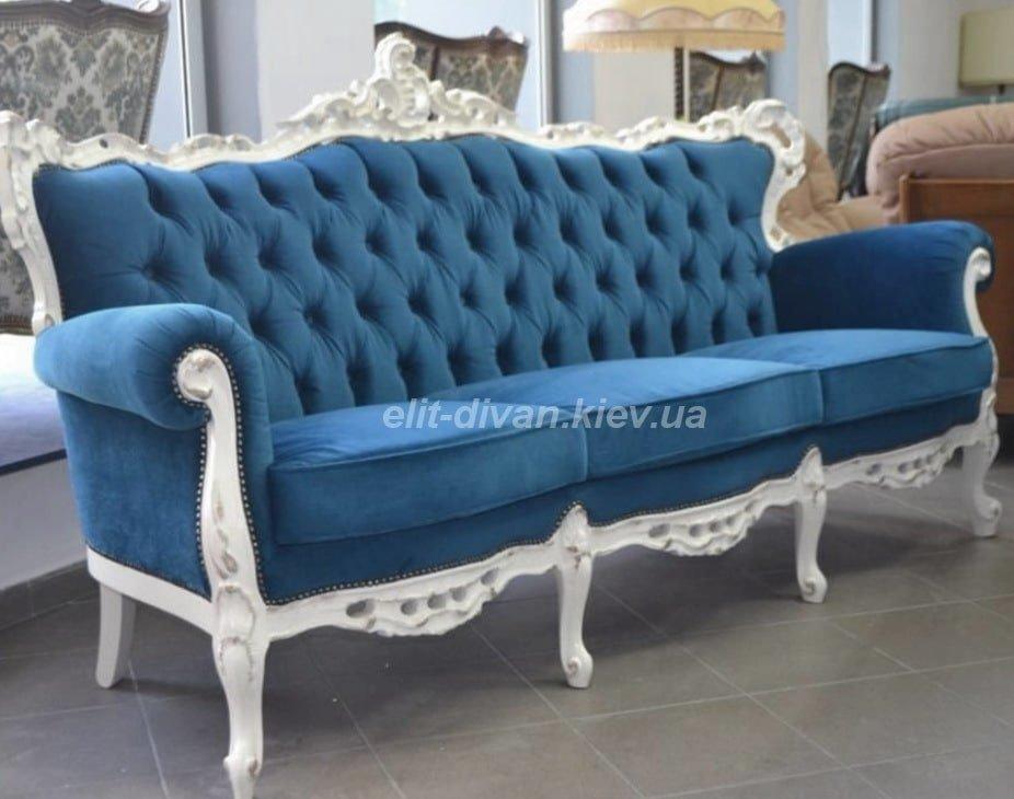 Прямий диван бароко