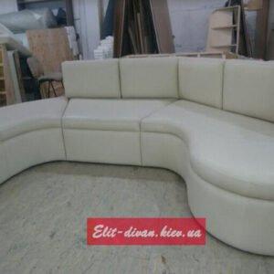 Радиусный модульный диван