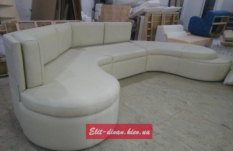 модульный радиусный диван под заказ Киев