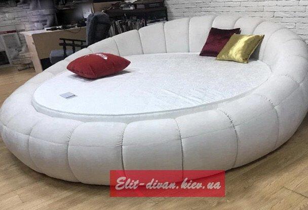 изготовление кругліх кроватей на заказ