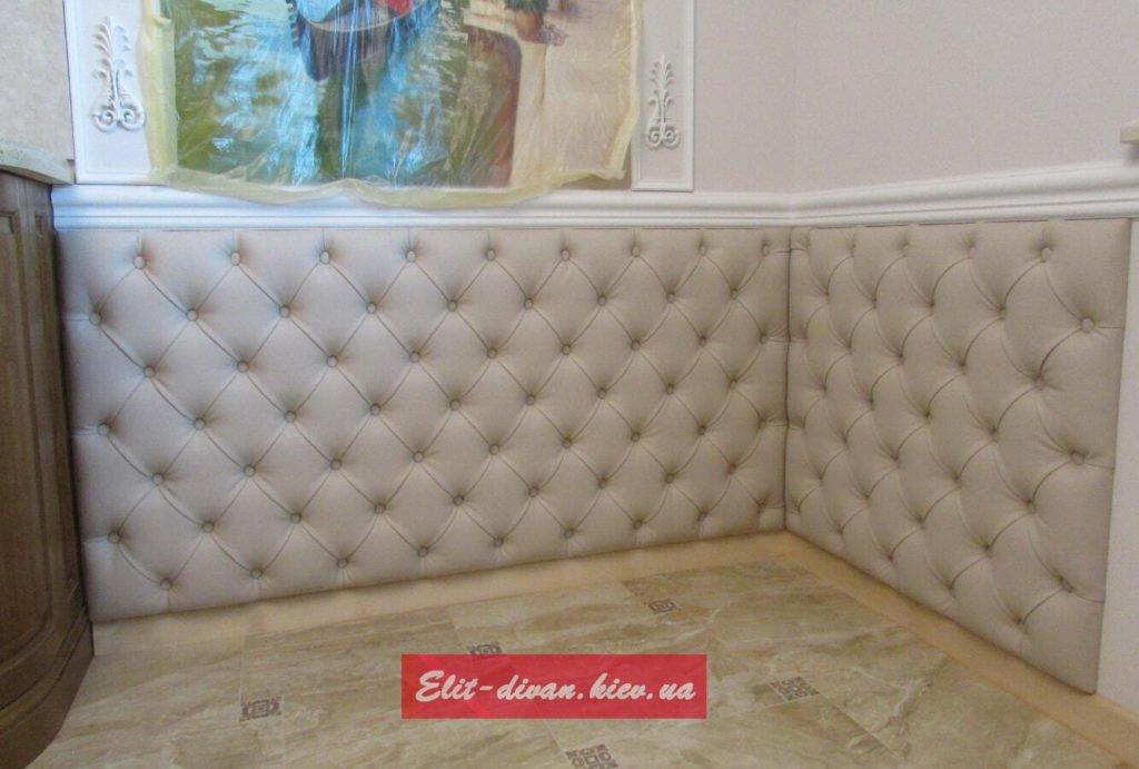 прямой округлый диван под заказ