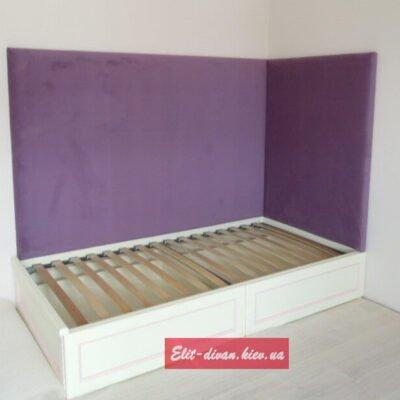 детская кровать на заказ фиолетовая