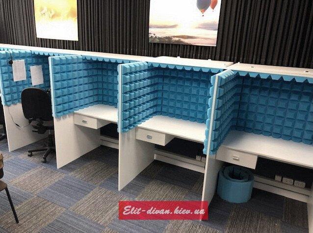 офисная мебель для кол центра на заказ Киев