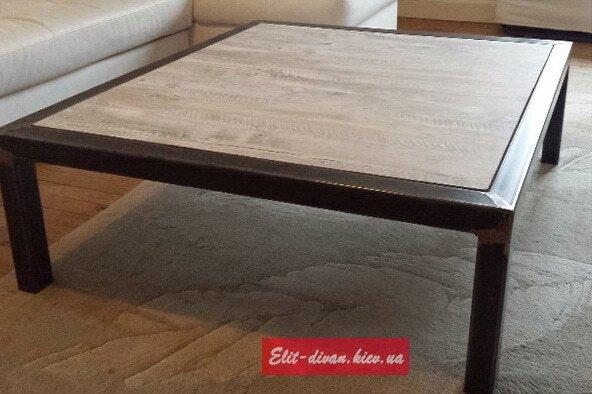 производство мебели лофт из дерева