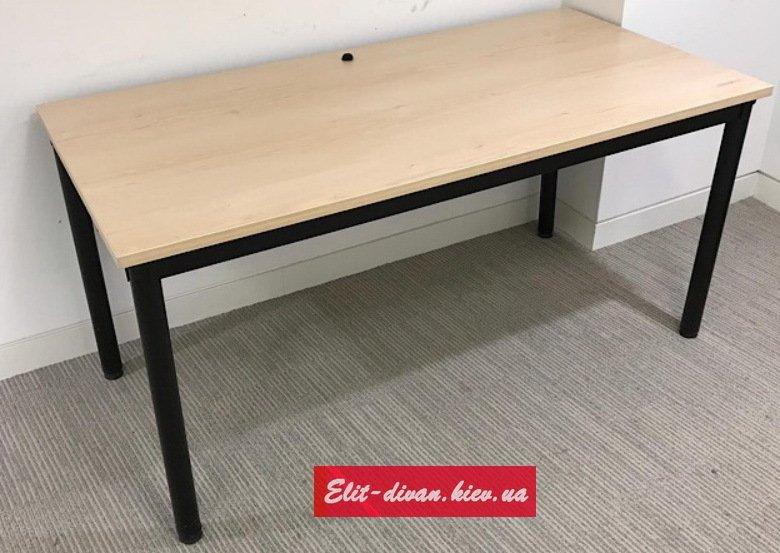 офисные столы на металлической базе
