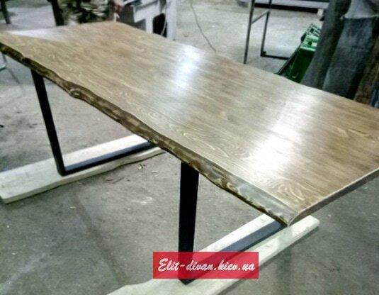 Изготовление столов лофт из дерева на заказ