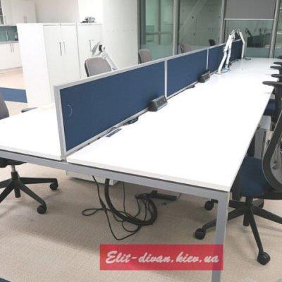 Белые столы в офис
