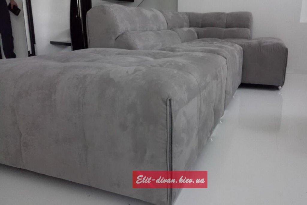 диван с вельветовой обивкой на заказ