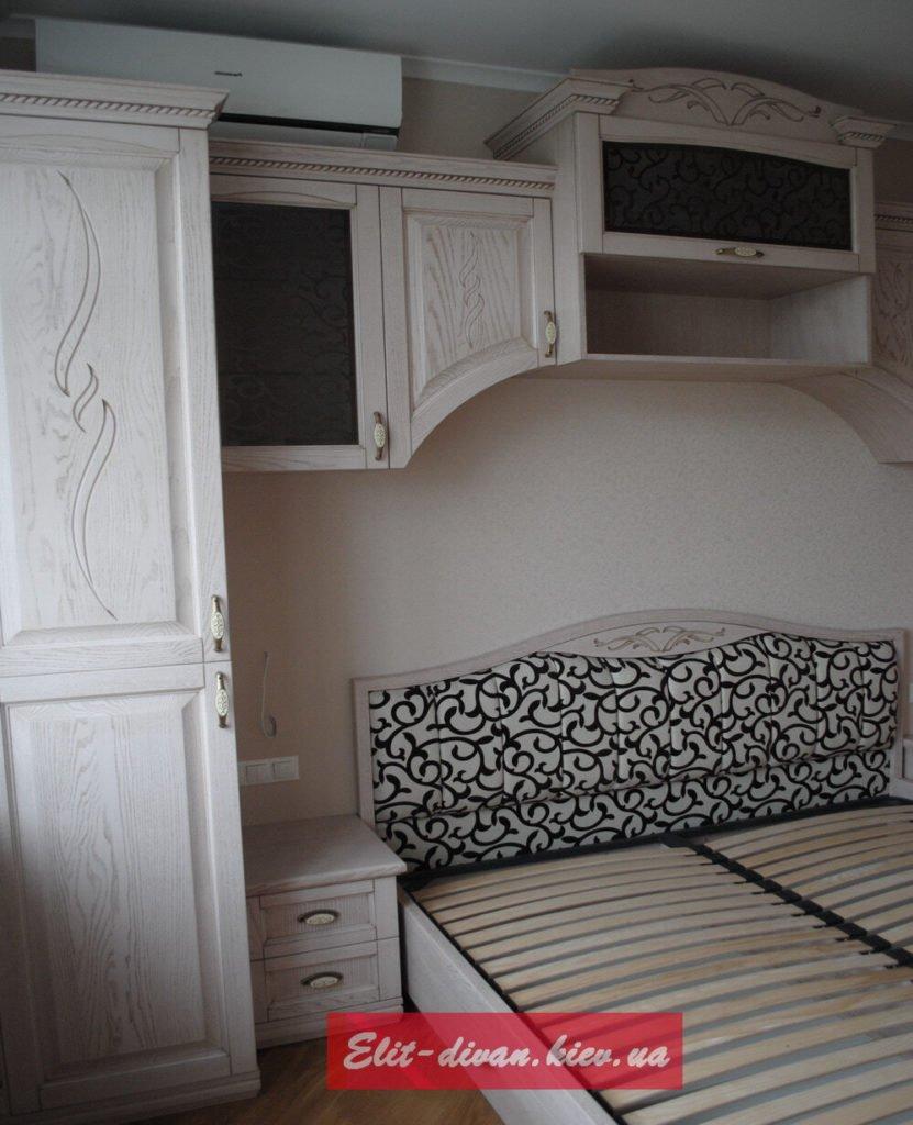 кровать из массива дерева под заказ