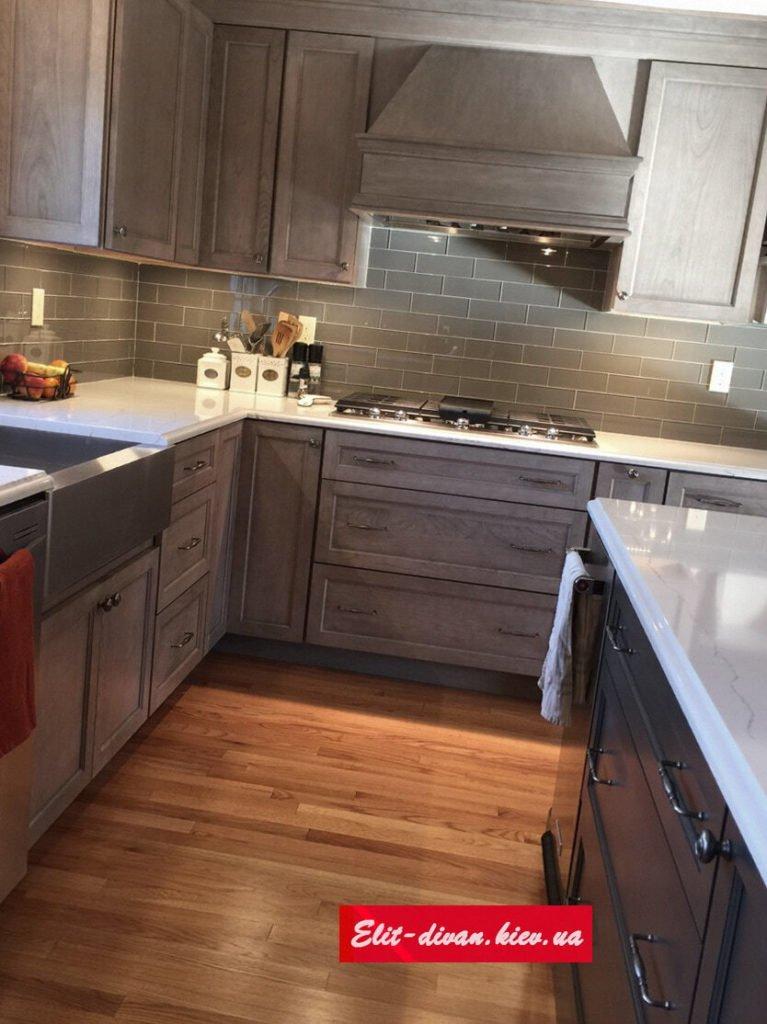 зказать деревянную кухню