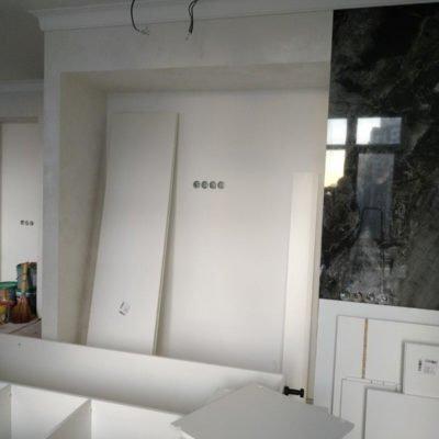 Заказная мебель белого цвета