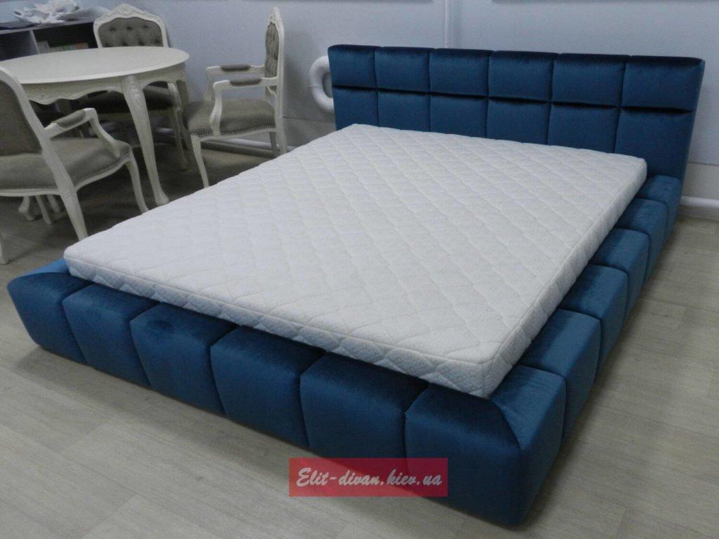 Мягкая мебель под заказ синего цвета