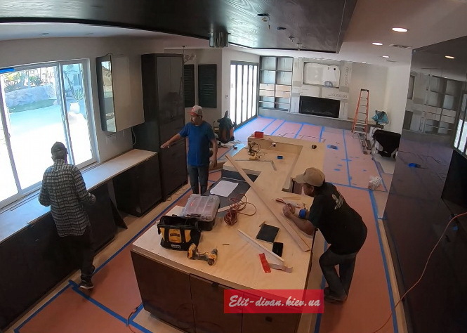 изготовление и установка кухни в Ирпене