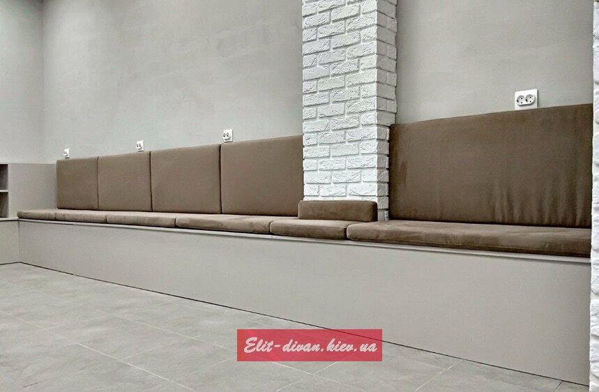 Заказать изготовление сидений в зал ожидания