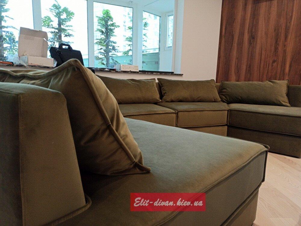 диван нестандартной формы на заказ